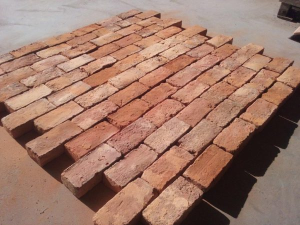 second hand red french bricks