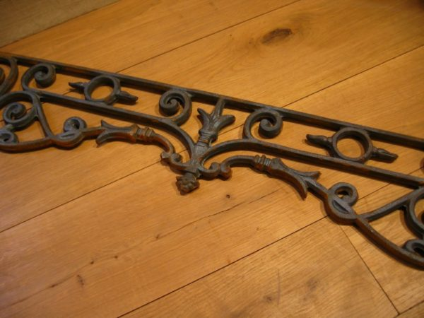 Iron window guard rails 00735
