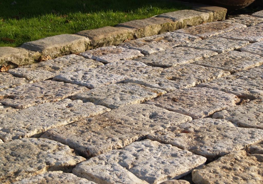 Antique Reclaimed Jerusalem Stone Type Pavers Bca