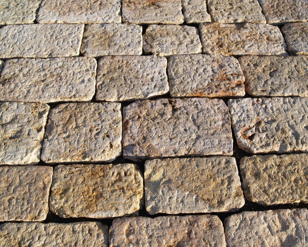 Antique Reclaimed Jerusalem Stone Type Pavers