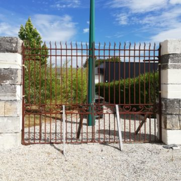 traditionnal iron gates mery corbon