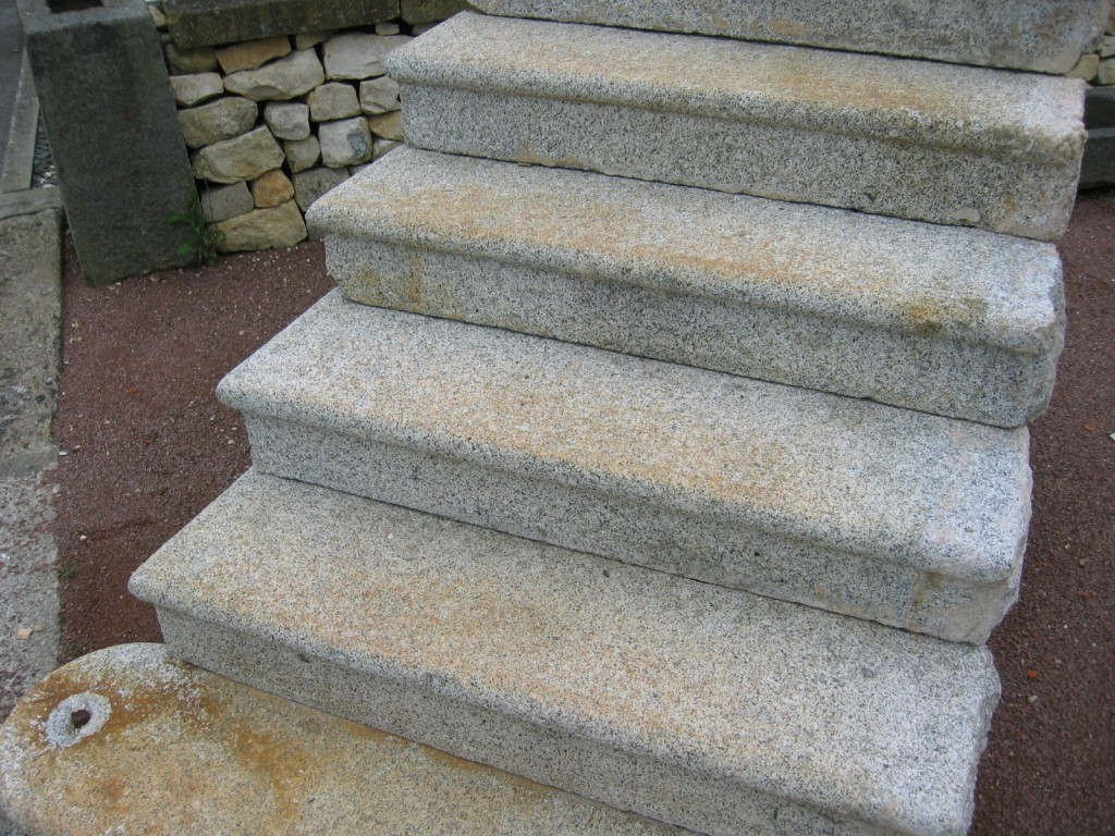Antique Granite Stairs