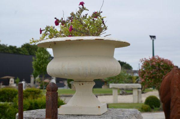 antique reproduction of medicis vase