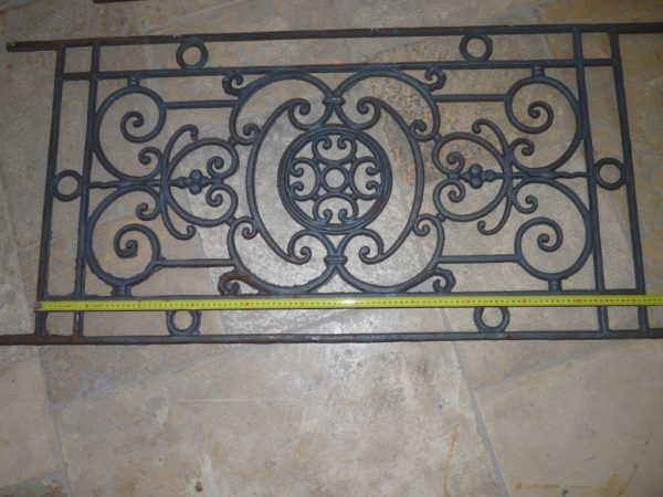 iron guard rails antique reproduction