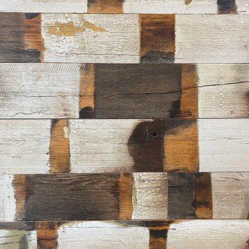 Reclaimed oak wagon boards