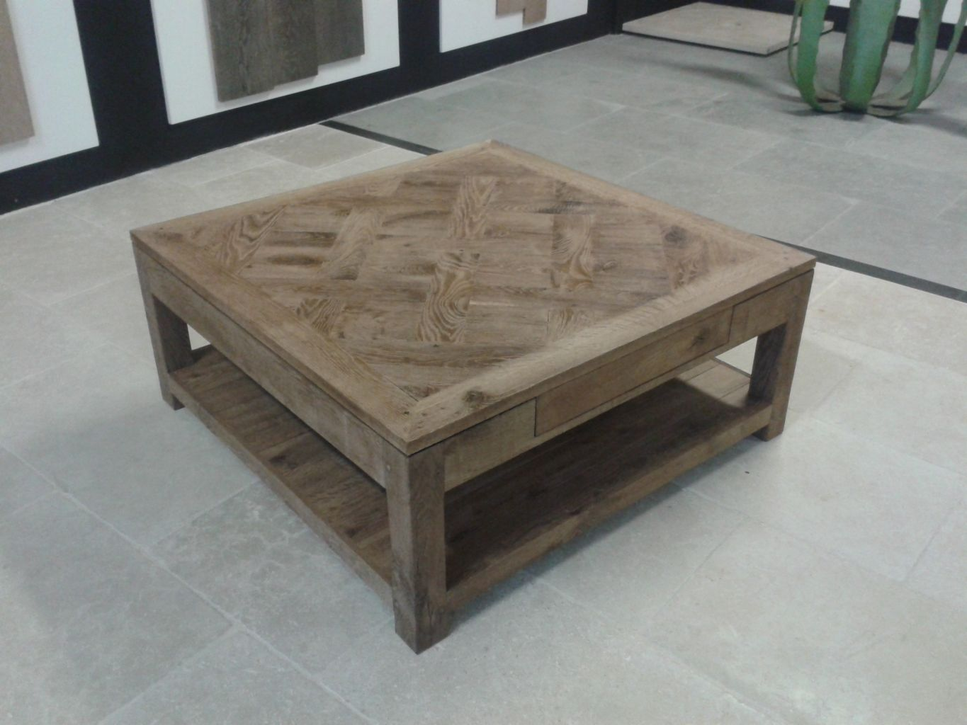 Table basse chene - Table basse chene naturel ...