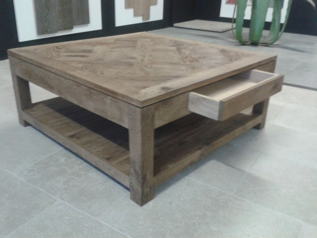 Table basse chene - Table basse chene naturel ...