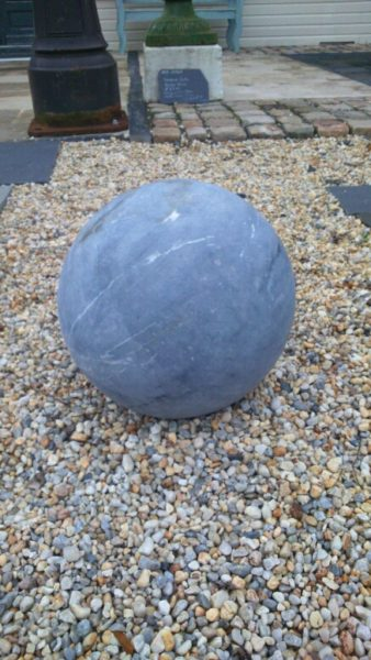 Bluestone sphere