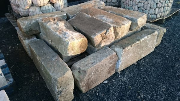antique kerb gritstone