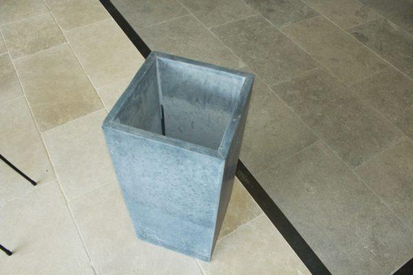 pot en pierre bleue