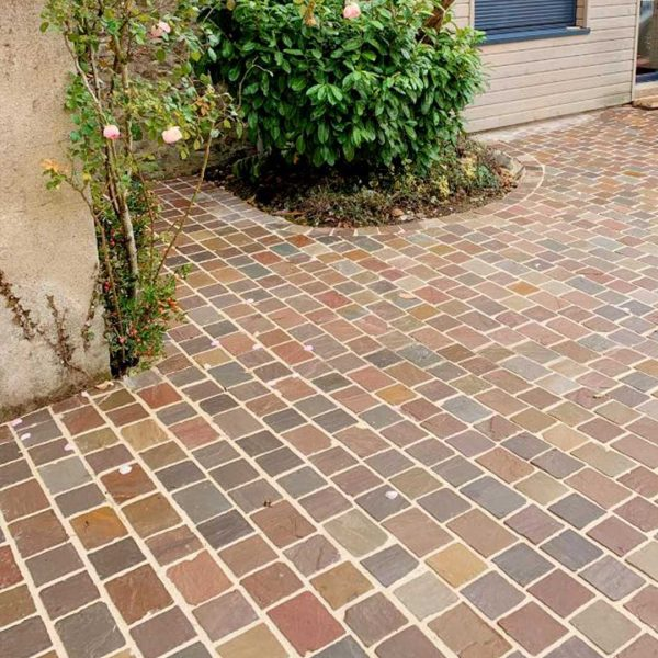 pavers in natural stone