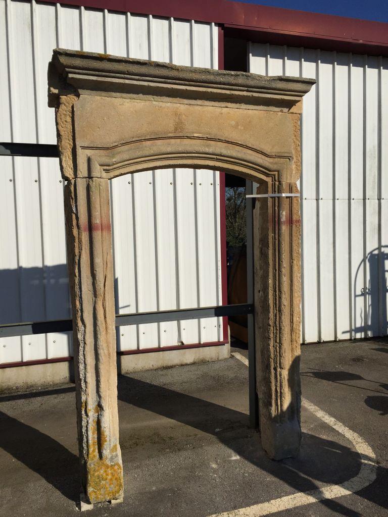 Antique Door Surround In French Limestone Bca Antique