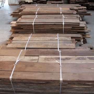 Reclaimed french oak floorboards