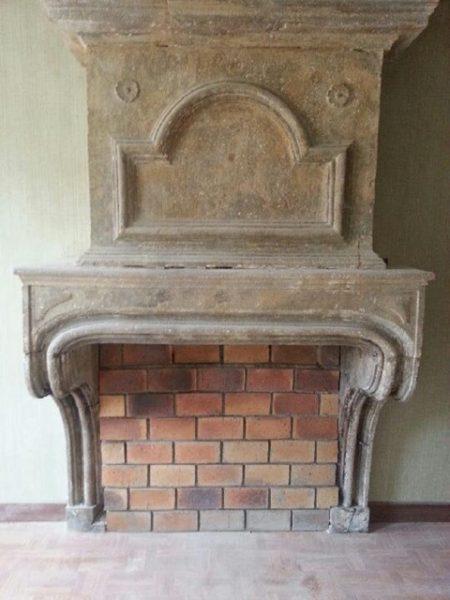 cheminée ancienne Louis XIV