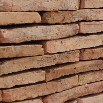 reclaimed thin bricks