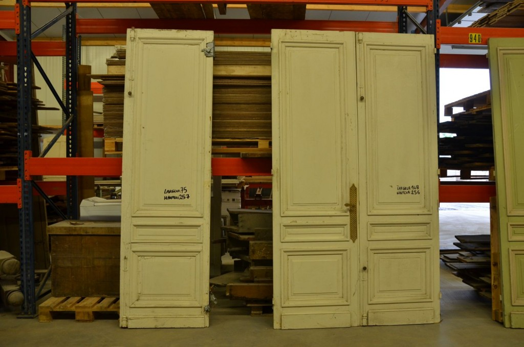 - Antique French Interior Double Doors