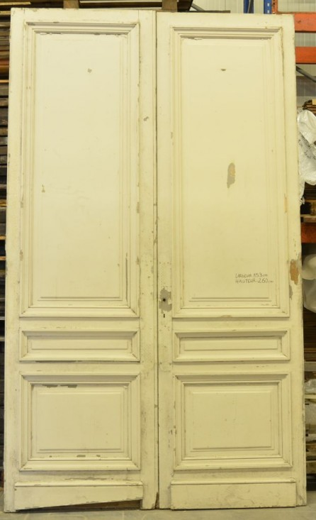Antique French Interior Double Doors