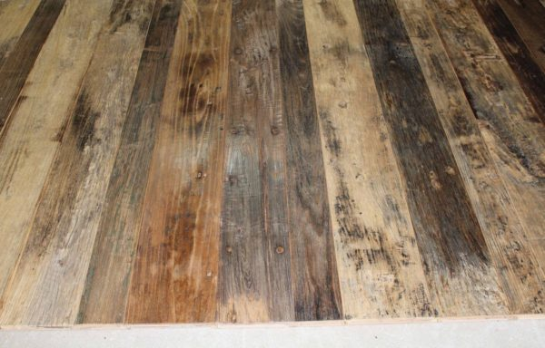 Reclaimed Elm Floorboards with original Antique patina