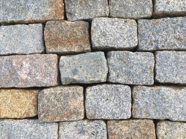 Antique granite setts pavers