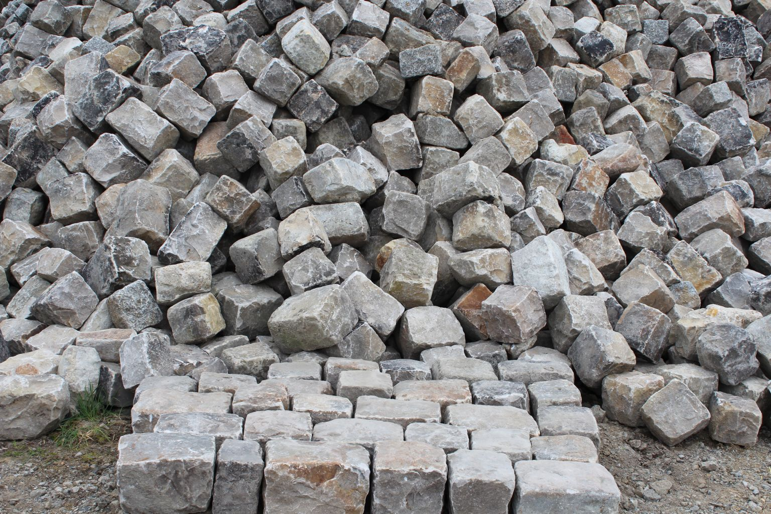 Antique French Cobblestones From Versailles