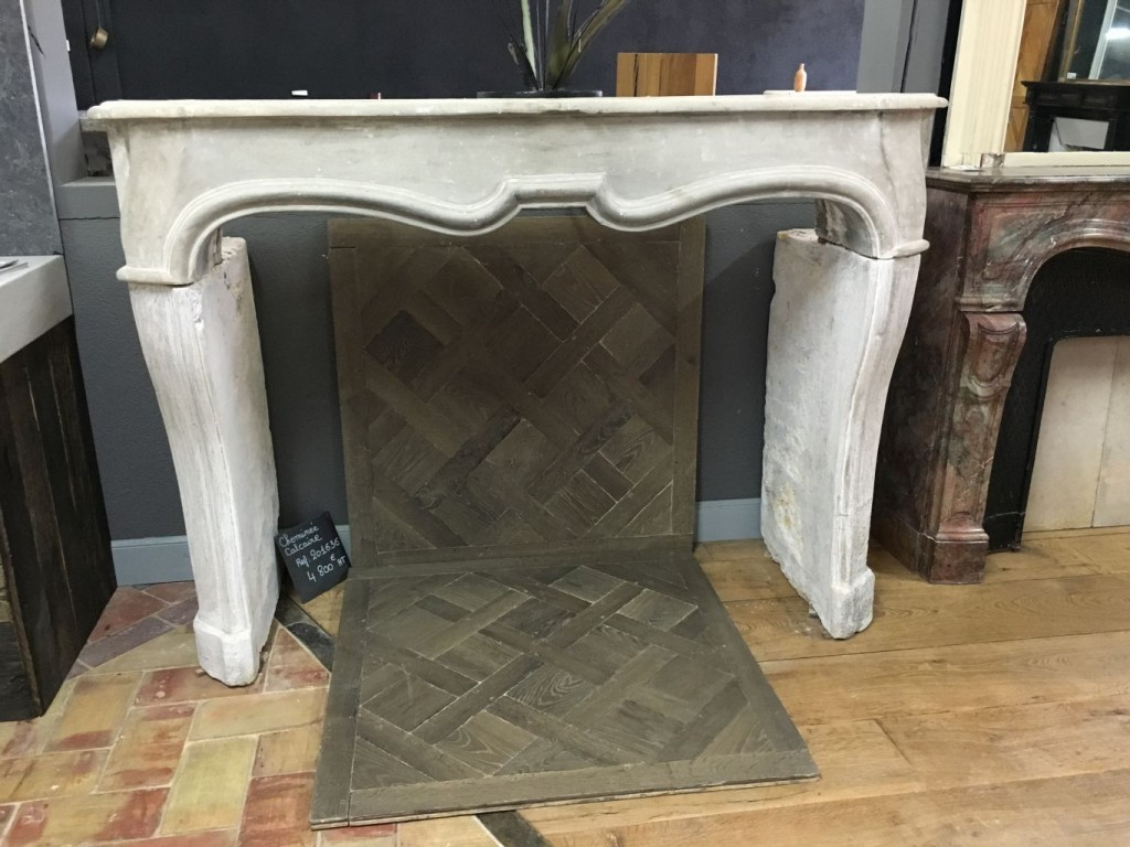 reclaimed antique french limestone louis xiv fireplace bca antique