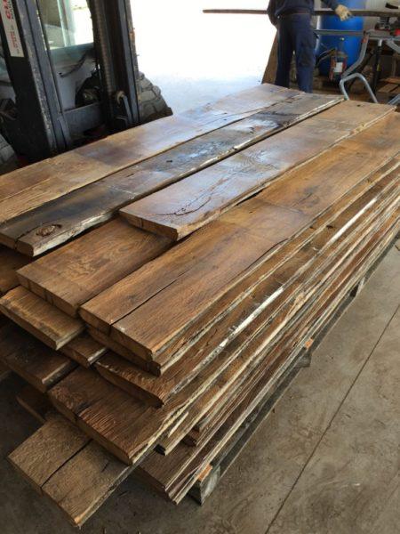 Vieux Plancher ancien en chêne