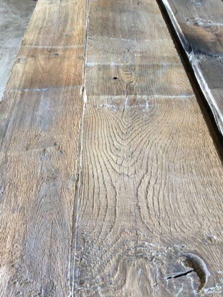 Reclaimed French oak floorboards