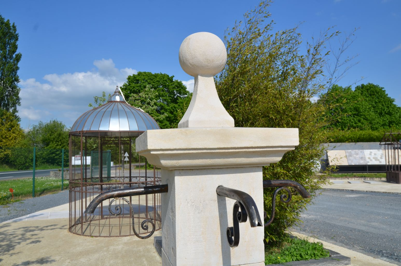 Limestone Fountain Water Feature