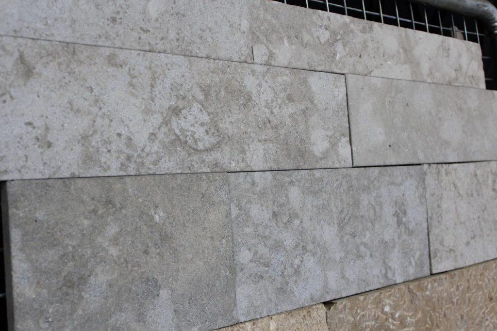 Marble Wall Cladding Thickness : Wall cladding in grey argos limestone