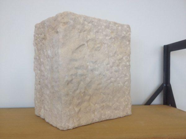 Limestone quoins