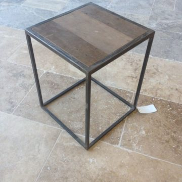 wrought iron nightstand