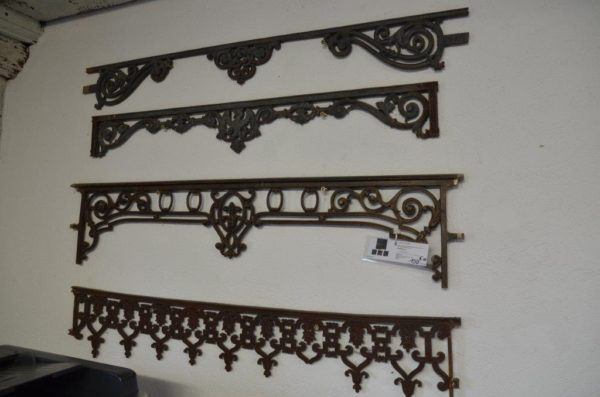 Antique window guard rails