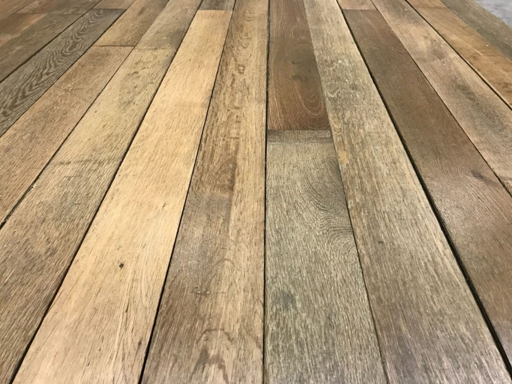 Reclaimed french oak haussmann parquet flooring for Parquet hardwood flooring