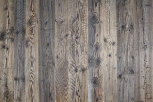 Reclaimed slow-growth pine wall cladding