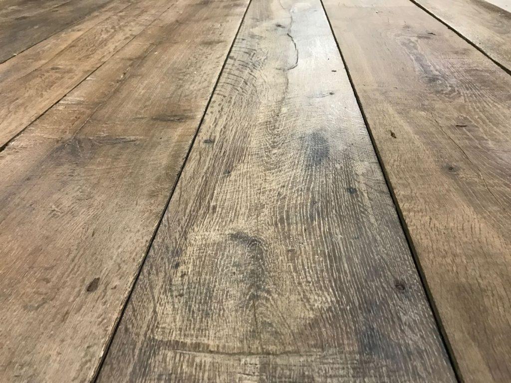 Genuine Antique Reclaimed French Oak Floorboards Bca