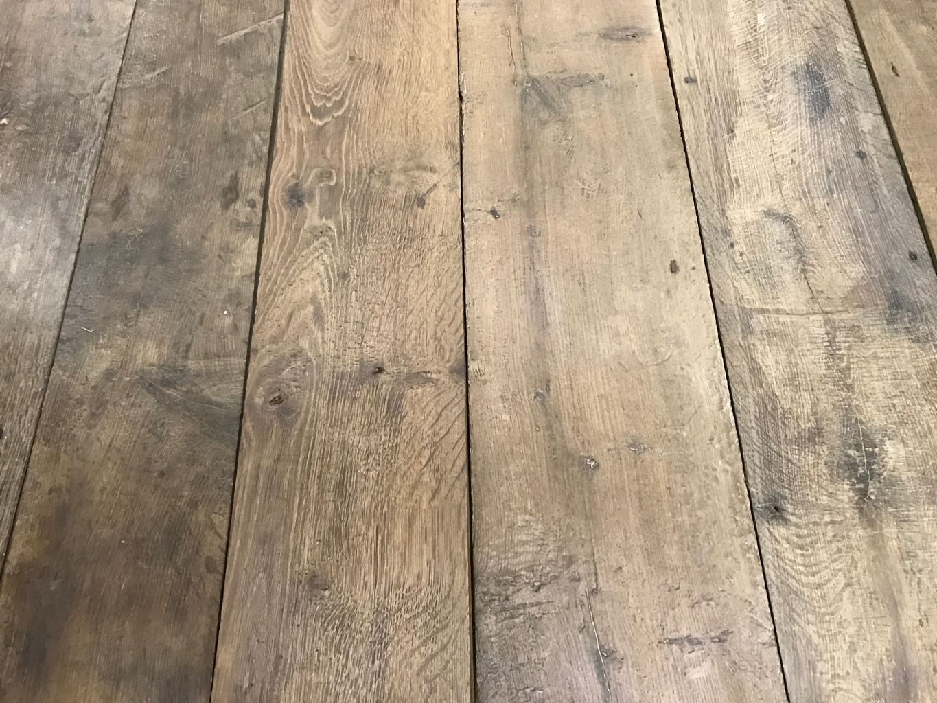 Genuine Antique Reclaimed French Oak Floorboards Bca