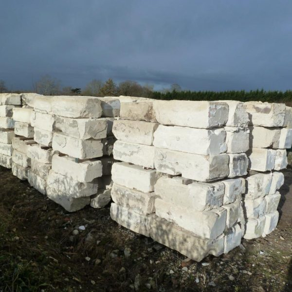 Antique limestone blocks from paris