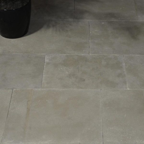 New reclaimed antique limestone flooring