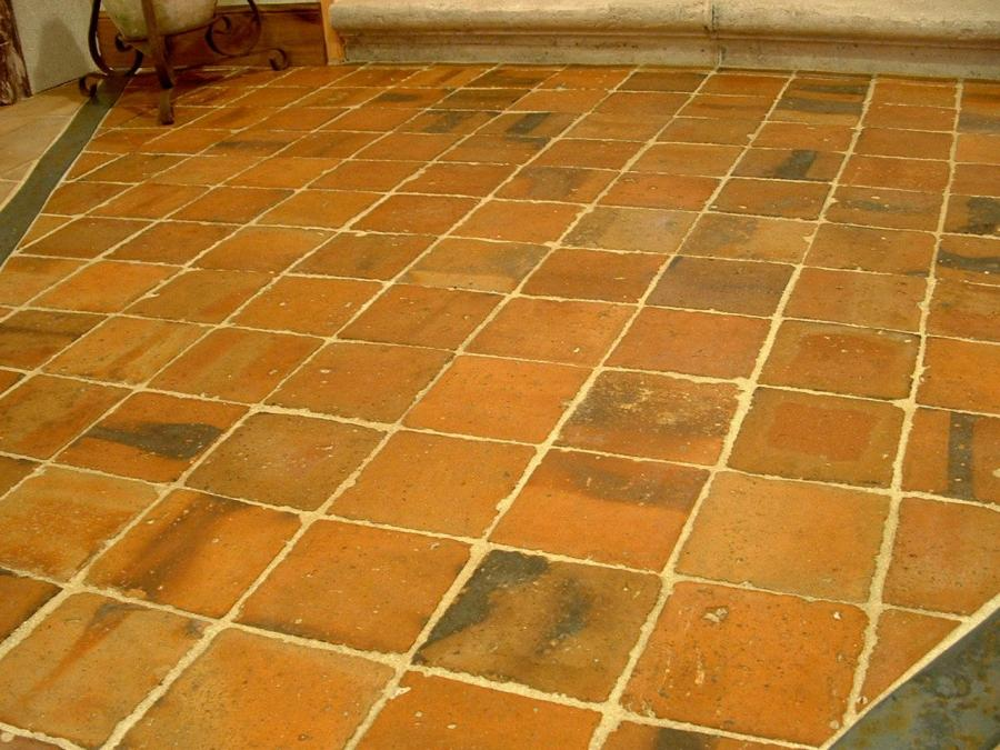 Antique Reclaimed Terracotta Floor Tiles Format 55 X 55 Inches