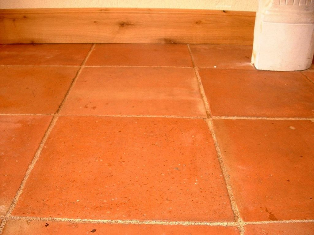 Antique Reclaimed Terracotta 13 X 13 Colour Salmon