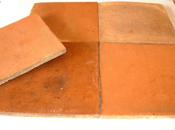 Antique reclaimed terracotta 13x13