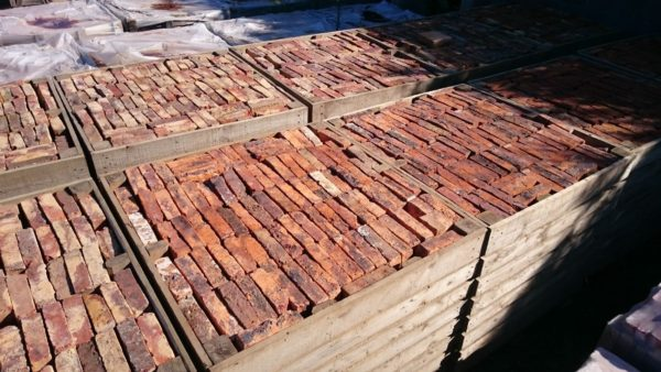 2nd hand reclaimed red brick