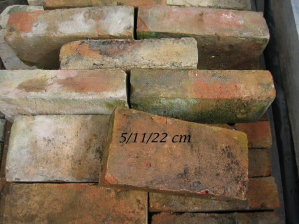 Reclaimed fire bricks from france 5/11/22