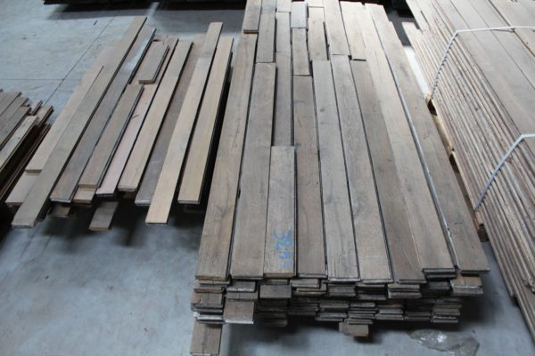 antique french oak parquet