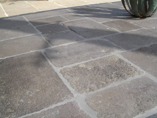 antique reclaimed volcanic stone