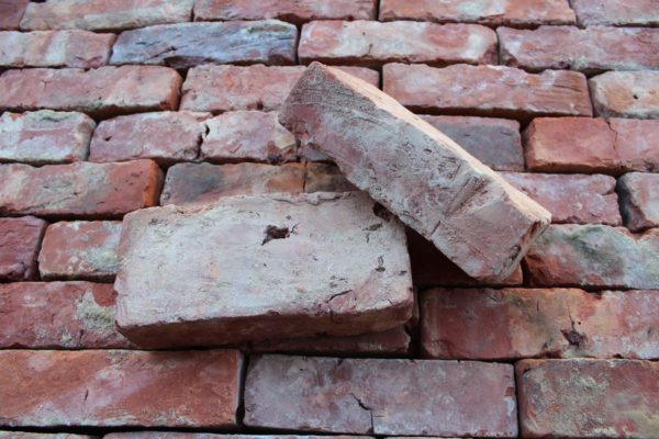 antique red brick