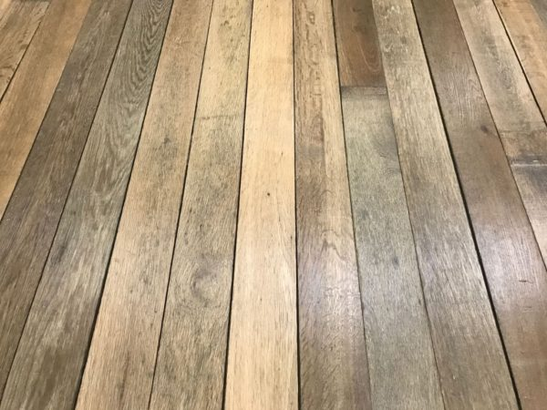 reclaimed oak parquet flooring