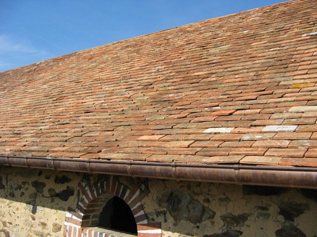 Brick Wall Terra Cotta Roof Tile Metal Roofing Systems