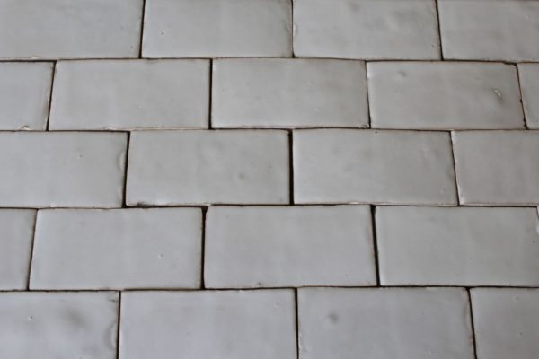 reclaimed white bricks