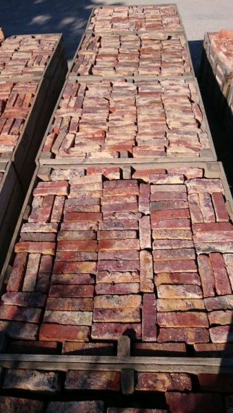 second hand bricks from france